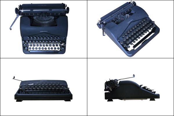 戦前のタイプライターをUSB化してみる。